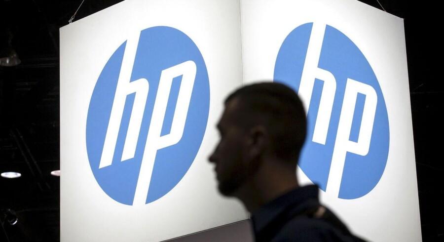 HP-koncernen splittes fra november i to selskaber og skal nu igennem endnu en massefyring. Arkivfoto: Jim Young, Reuters/Scanpix