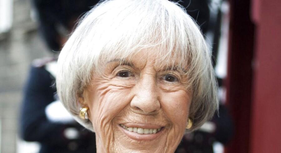 Lise Nørgaard lever i bedste velgående i en alder af 96 (Foto: Bjarne Lüthcke/Scanpix 2012)