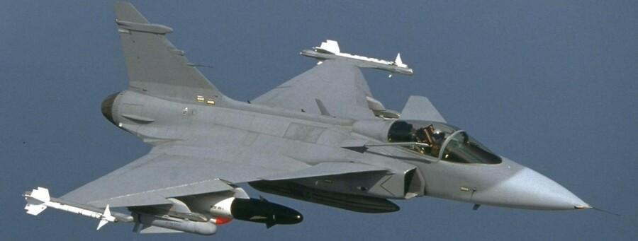 Gripen NG er det mindste af de fire kampfly, der konkurrerer om at afløse de danske F16-fly. Det svenskproducerede kampflys chance for at vinde vurderes at være tilsvarende små.