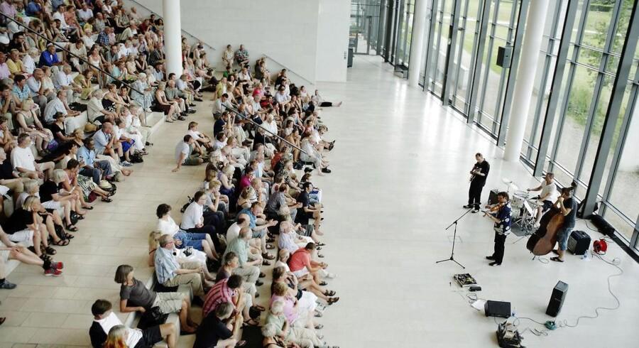 Statens Museum for Kunst har lokket endnu flere unge ind på museet, efter de er begyndt at afholde fredagsbar med musik og kunst. Her optræder Kristian Jørgensen Kvartet på museet i 4. juni 2009 som en del af Copnhagen Jazz Festival.