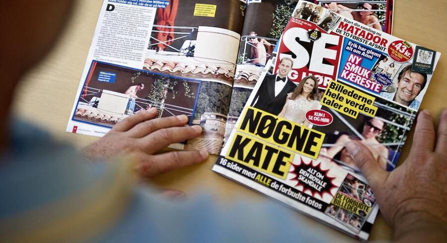 Ugebladet Se og Hør vakte forargelse i store dele af verden, da ugebladet valgte at trykke billeder af den britiske kronprinsesses bryster.