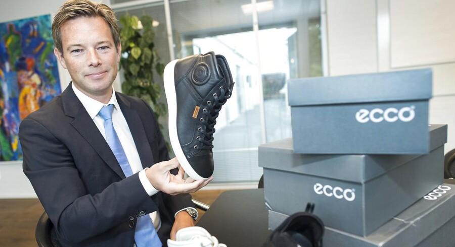 Ny topchef hos Ecco - Steen Borgholm.