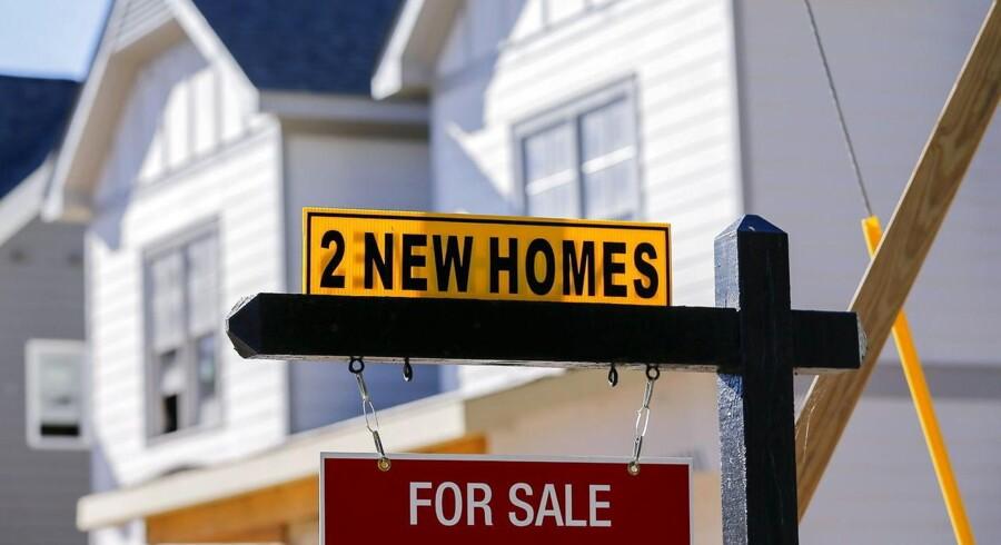 Der bliver ikke solgt nær så mange boliger i USA.