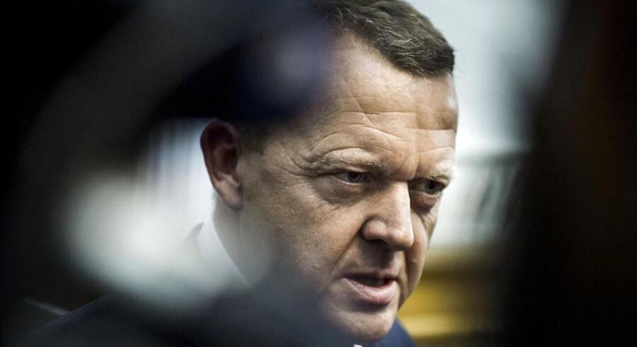 Lars Løkke Rasmussen blev truet på livet i tre telefonopkald til Statsministeriet torsdag morgen.