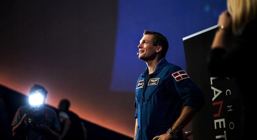 Andreas Mogensen måtte knokle i mange år, før drømmen om en tur i rummet blev opfyldt. Nu fortæller han om sine erfaringer og oplevelser.