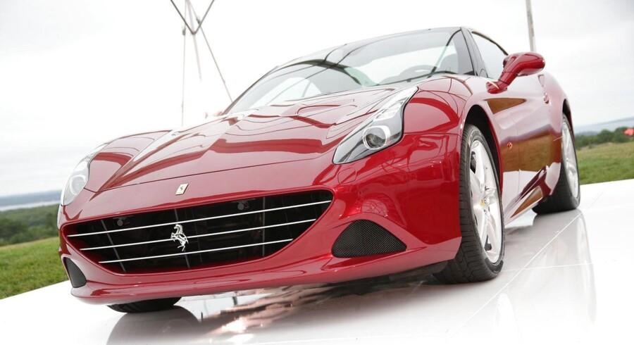 »Vi solgte en fredag og havde så lørdag og søndag fri. Så sagde Christian: Ved du hvad – vi lejer sgu en Ferrari, « fortæller Cathrine W. Andersen.