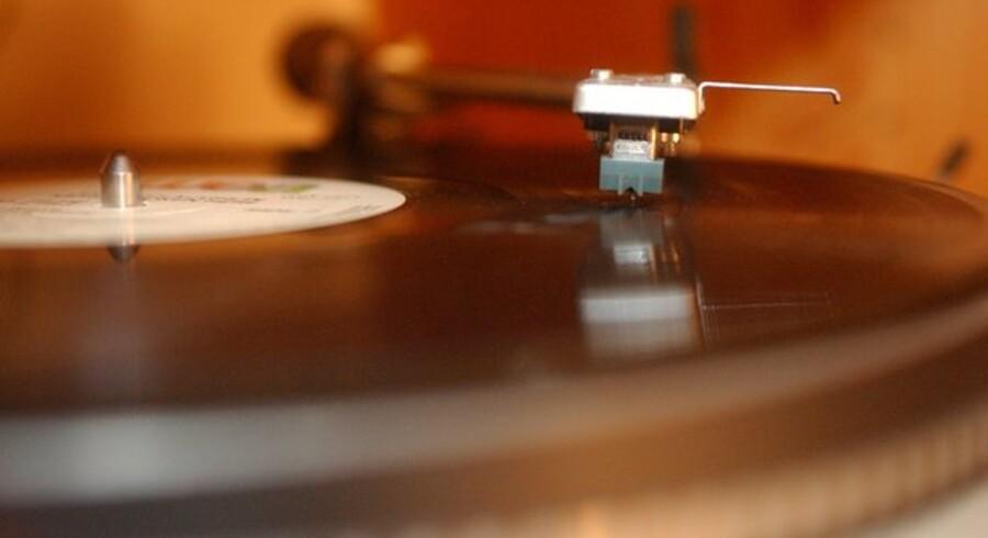 Den klassiske LP-vinylplade er igen blevet populær. Foto: Colourbox