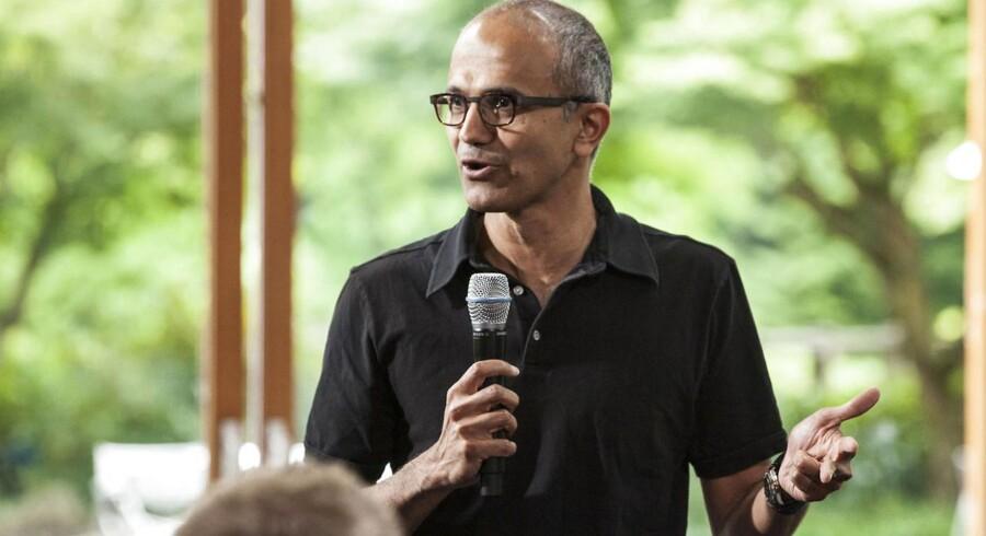 Satya Nadella, er ny topchef for Microsoft.