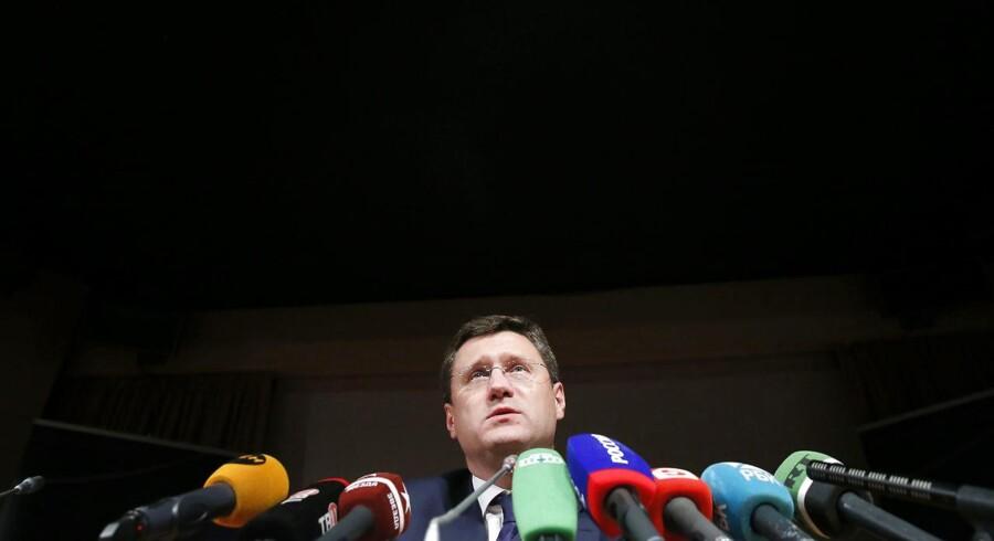 Ruslands olieminister, Alexander Novak.