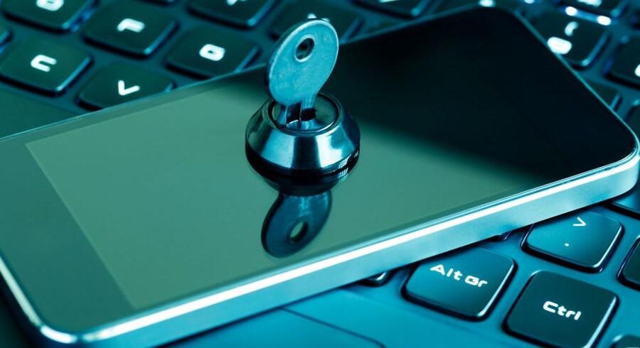 Behovet for at sikre adgangen til IT-systemer på en enkel men effektiv måde vokser konstant. Nu får det danske Omada en kapitalindsprøjtning fra udlandet. Arkivfoto: Iris/Scanpix