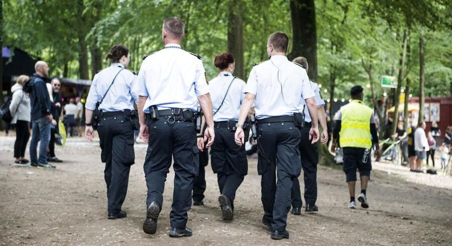 Sikkerheden omkring Smukfest er blevet lidt mere synlig i år. (Foto: Sarah Christine Nørgaard/Scanpix 2017)