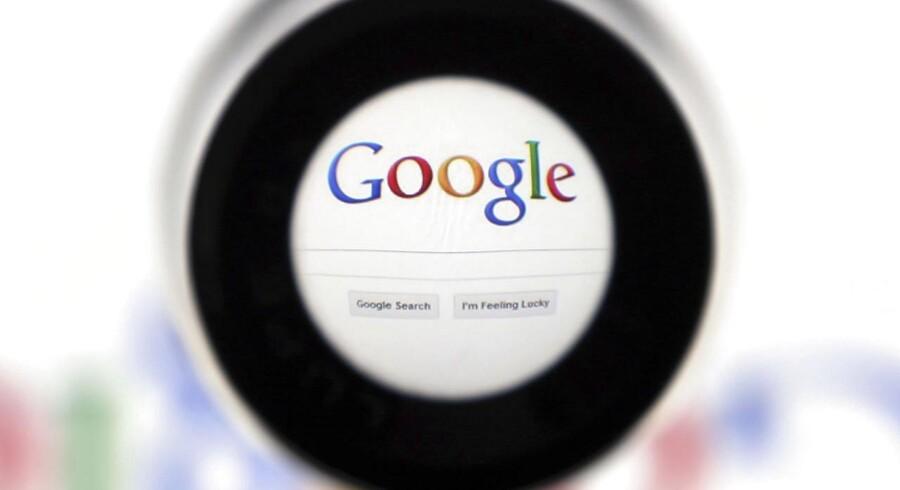 Google betaler tre milliarder kroner for iværksættervirksomheden Dropcam, som laver overvågningskameraer. Arkivfoto: François Lenoir, Reuters/Scanpix