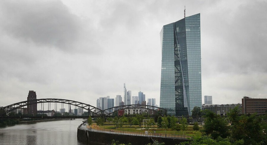European Central Bank (ECB) i Frankfurt.