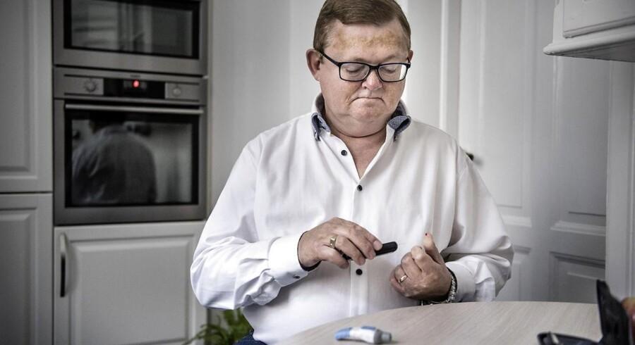 I de seneste år er Frits Skov Iversens type 2-diabetes blevet overvåget, og hans livskvalitet er blevet meget bedre