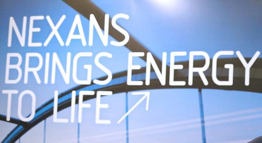 Den franske kabelproducent Nexans, der konkurrerer med danske NKT's Cables-division, kom ud af 2015 med et større underskud end ventet blandt analytikerne. Arkivfoto.