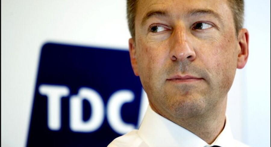 Den tidligere TDC-chef Jens Alder ser igen mod Schweiz. Foto: Scanpix