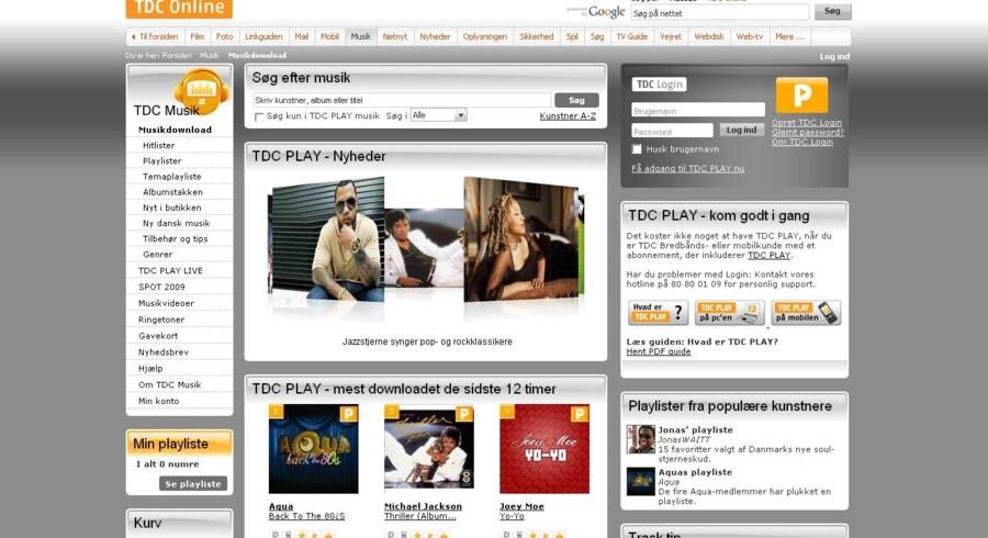 TDC får nu usædvanlig opbakning fra den danske pladebranche i, at det er for dyrt at give kunderne gratis musik.