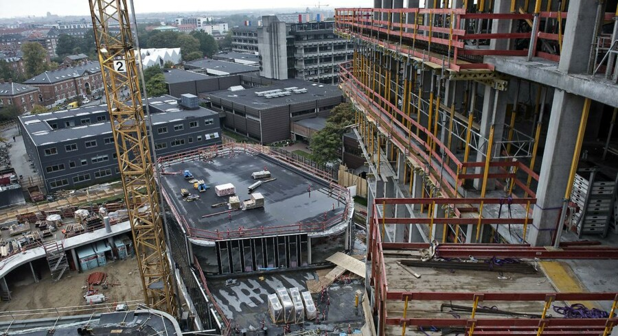 Frem til 2018 rejser nye bygninger og infrastruktur for seks mia. kroner sig på Nørrebro omkring universitetet og Rigshospitalet.