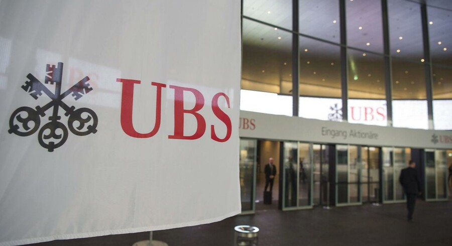 Den schweiziske storbank UBS kom pænt ud af tredje kvartal, hvor overskuddet før skat var stort set som ventet i markedet. Arkivfoto.