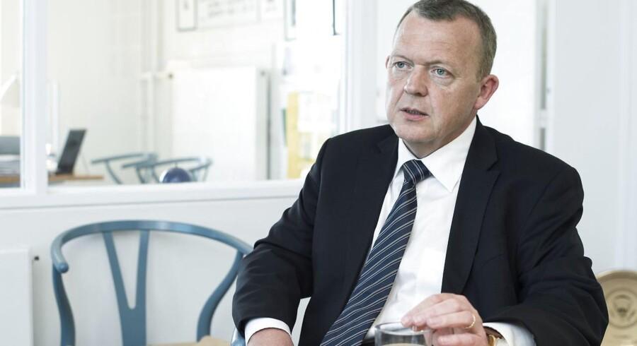 Lars Løkke Rasmussen (V).