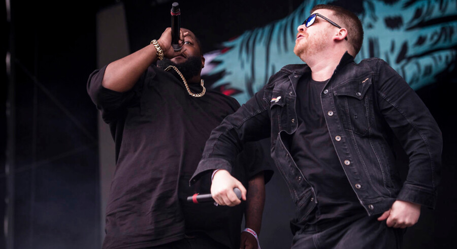 Run The Jewels, Northside 2017, Green stage.