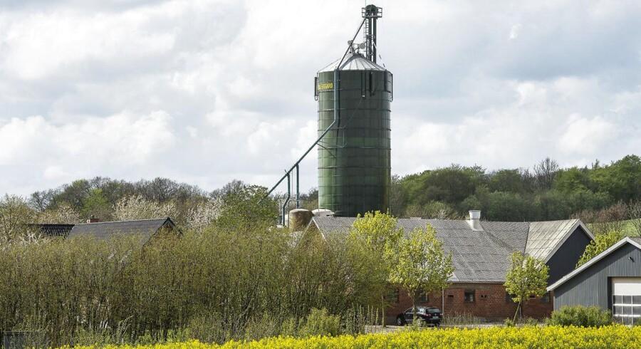 Landbrug erklæret konkurs med gæld på 100 mio. - Lerbjerggaard ved Hadsten.