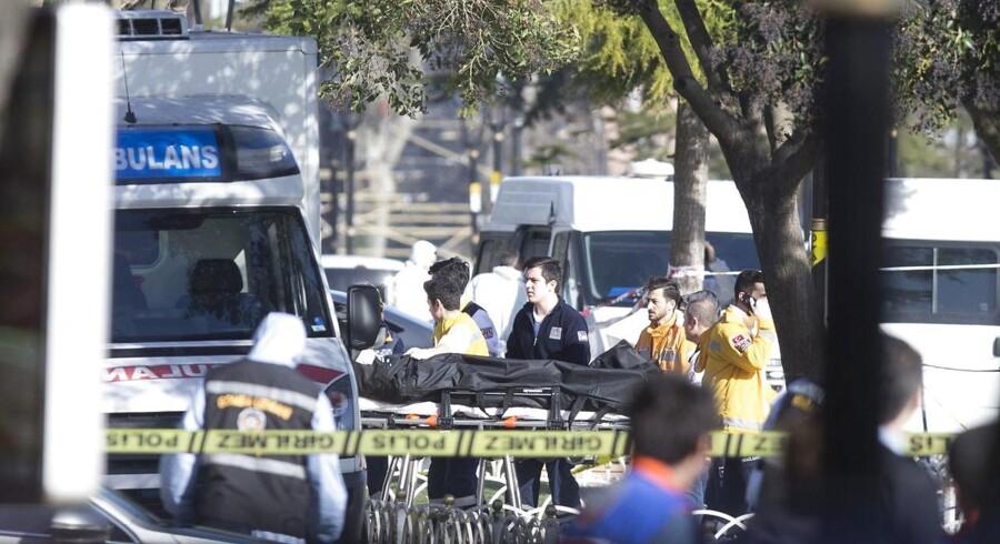 Jorden rystede, da eksplosionen ramte i Istanbul tirsdag formiddag.