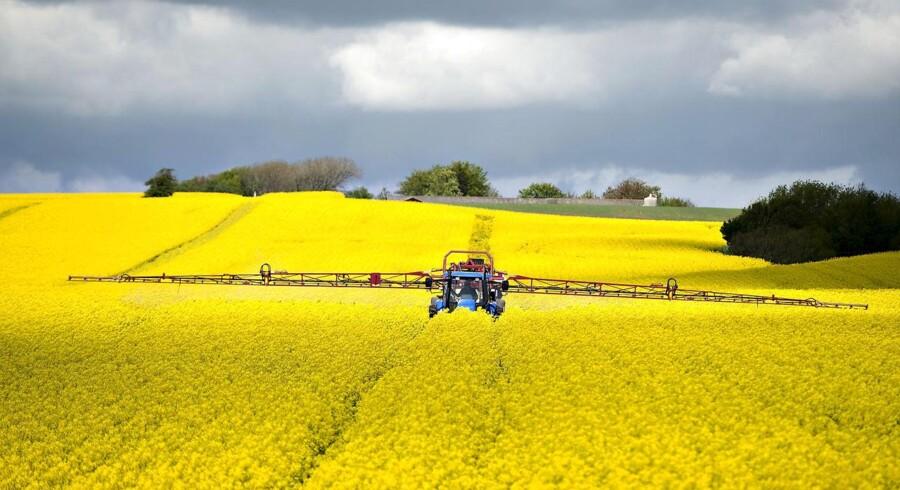 Selvom landbrugets krise trækker spor i bankernes regnskaber, falder nedskrivningerne generelt, og sektoren står stærkere end før finanskrisen.