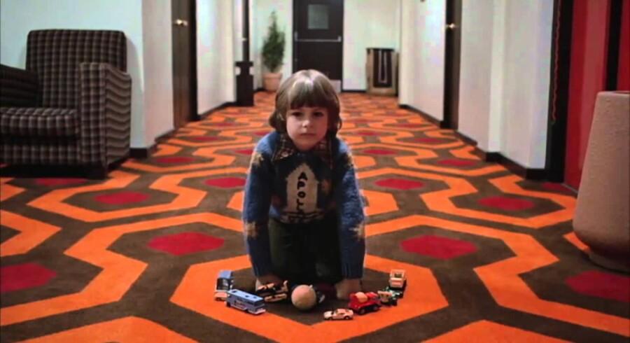 Drengen i »Ondskabens hotel«.