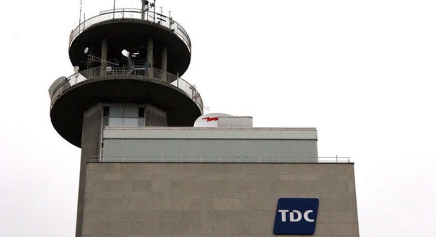 TDC er som de andre store teleselskaber presset men ventes alligevel at fremlægge bedre tal end forventet, når året 2008 torsdag gøres op. Foto: Torben Christensen, Scanpix
