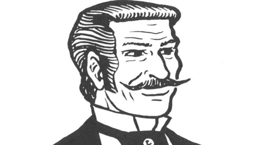 Dr. Merling hed faktisk »Dr. Merlind« i Berlingske Tidende, da læsere af navnet Merling ikke brød sig om navnefællesskabet og fik det ændret.