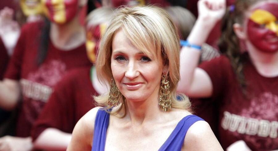 J.K. Rowling - har fået problemer med de oprindelige folk i Nordamerika for hendes nye historier.