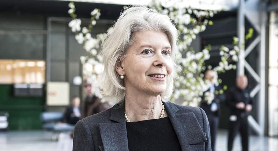 Magt er ikke noget, den 65-årige Ane Mærsk Mc-Kinney Uggla taler om. Ikke desto mindre bliver hun placeret som Danmarks mest magtfulde kvinde.