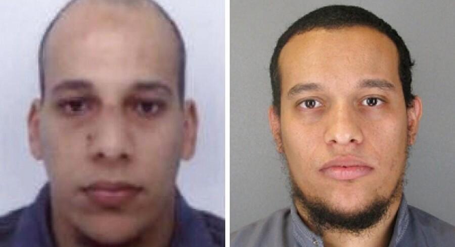 Chérif og Saïd Kouachi på henholdsvis 32 og 34 år er begge gamle kendinge. De er mistænkt for at stå bag terrorangrebet på Charlie Hebdo i Paris.