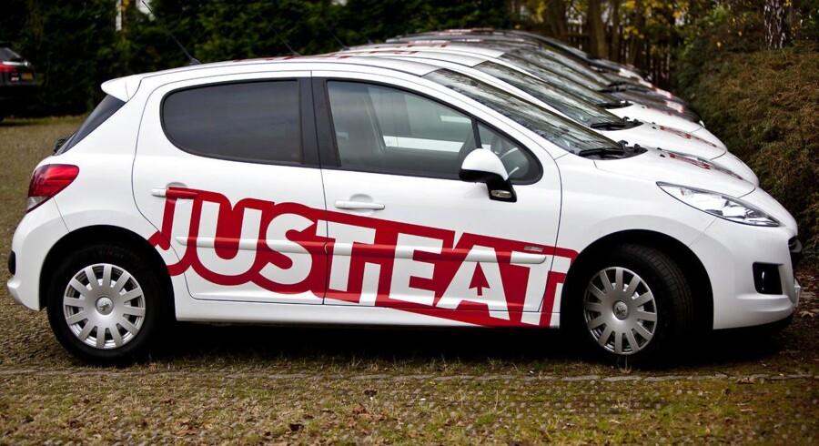 Just Eat har leveret et regnskab, der viser, at der var mere sul på salget i 2015 end ventet.