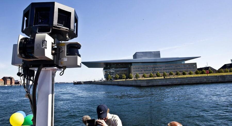 Google har også været på kanalrundfart i København
