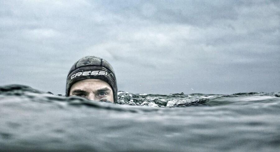 Thomas Rodes nyeste passion er træning i havet.