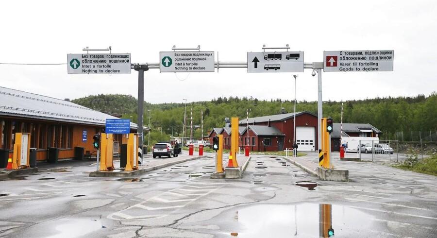 Flere kriminelle har forsøgt at bruge grænseovergangen ved Storskog.