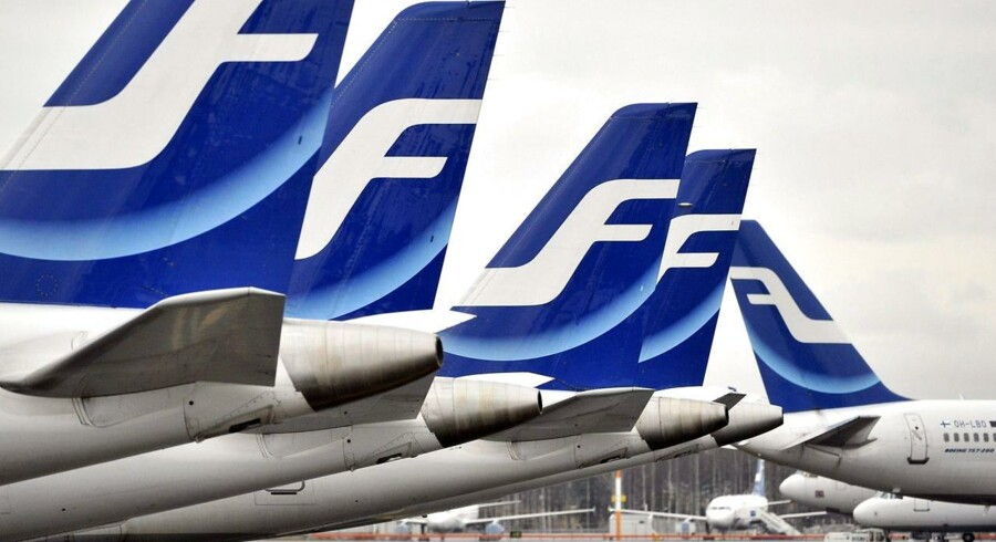 Flyselskabet Finnair havde i maj en vækst i passagertrafikken på 9,4 pct. i forhold til samme periode sidste år - opgjort som fløjne passagerkilometer (RPK).