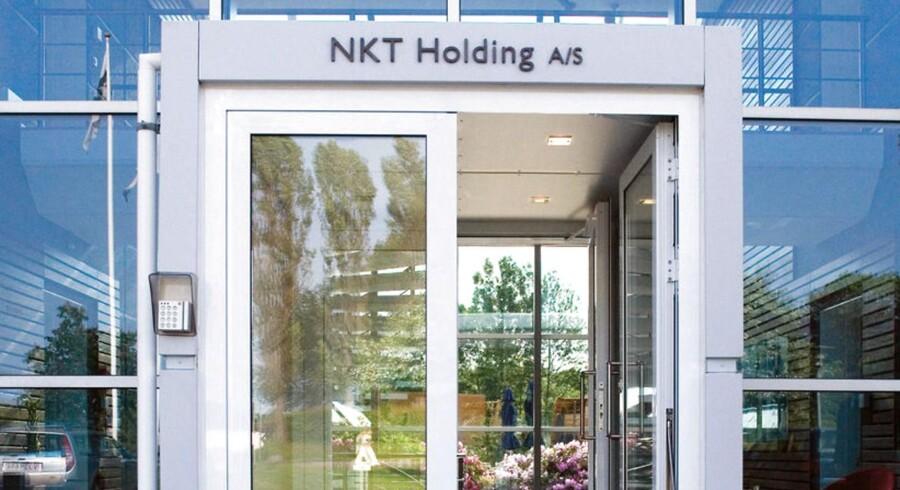 Ifølge Finans har NKT hyret investeringsbanken JPMorgan til at vurdere mulighederne for et frasalg af kabeldivisionen NKT Cables, når bestyrelsen anser timingen for rigtig.