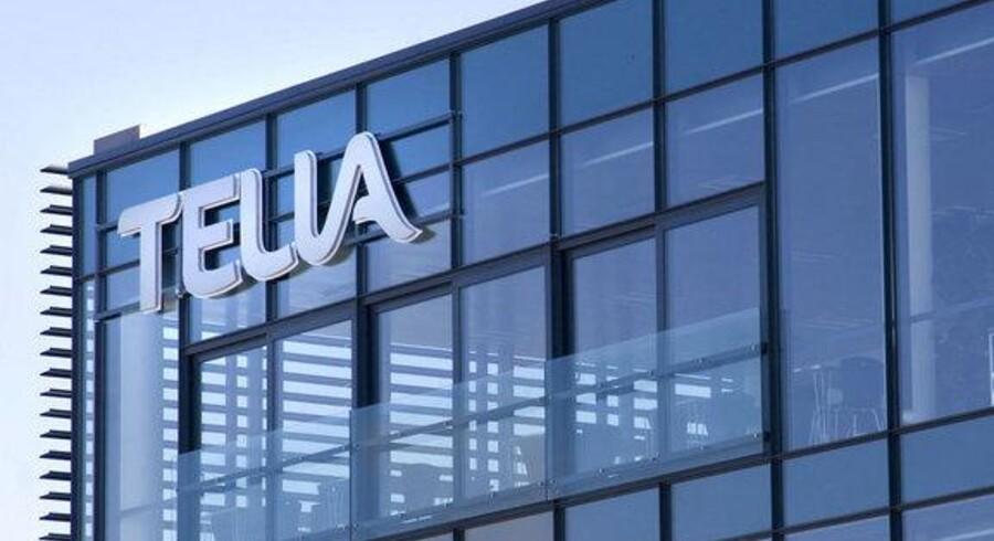 Telia - her det danske hovedsæde på Amager - klarer sig bedre end ventet på verdensplan. Foto: Torben Christensen, Scanpix