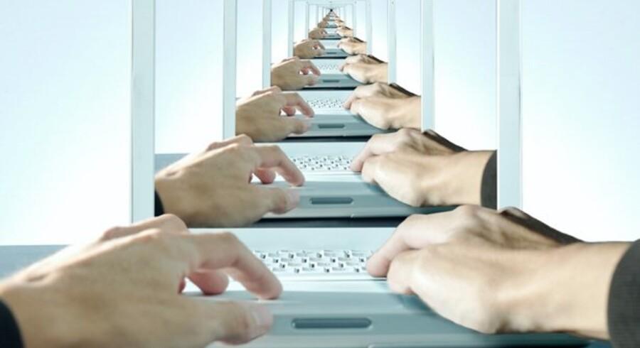 Lynhurtige Internet-forbindelser er afgørende for Danmark. Derfor er videnskabsministeren nu parat til at komme med penge. Foto: Colourbox