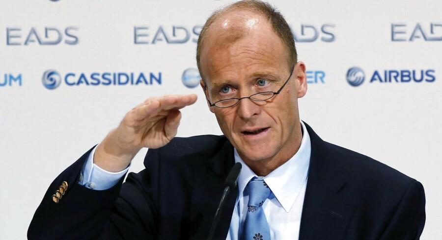 Topchef i Airbus Tom Enders har rigeligt at se til for tiden.