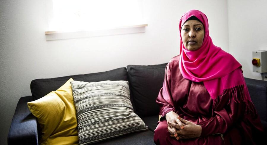 48-årige Khadija Abdi har boet i Mjølnerparken i 19 år og er næstformand i boligforeningens bestyrelse.