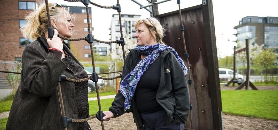 På institutionen Hvalen i København kender pædagog Jette Bødskov og leder Lene Zøllner godt til øv-dagskulturen.