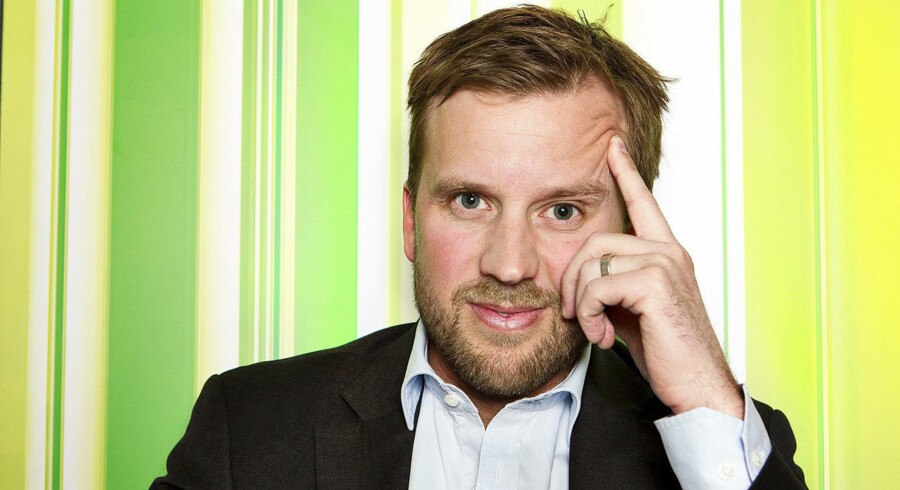 Mathias Berg, direktør i YouSee, har også sin andel i, at der til september holdes »EuroSummit«-topmøde i København med 300 kabelchefer fra 75 forskellige lande.Foto: Nils Meilvang