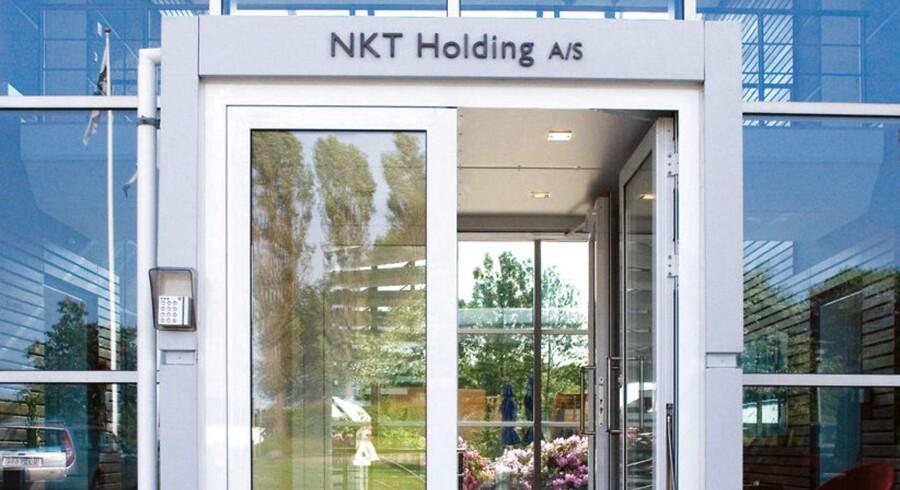 NKT holding. ARKIVFOTO.