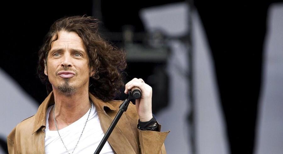 Chris Cornell er død. Arkivfoto fra 2009.