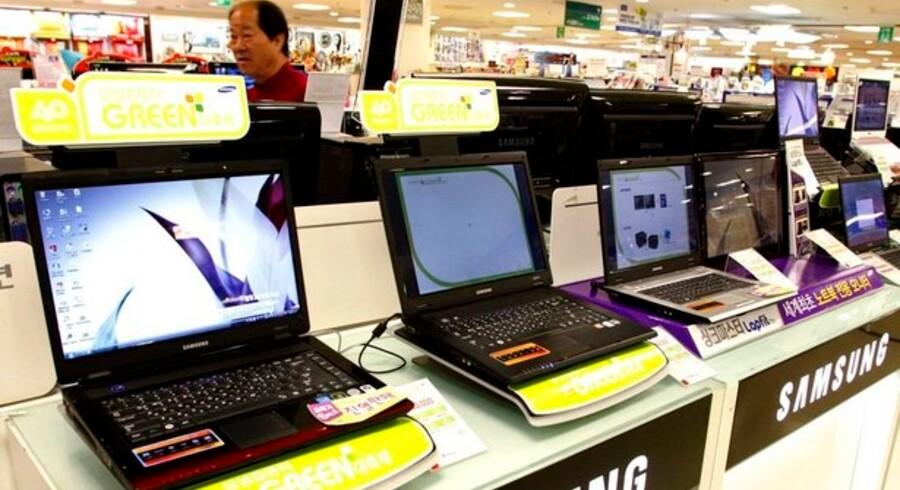 Der er gryende optimisme i PC-branchen forud for årets julesalg. Foto: Lee Jay-Won, Reuters/Scanpix