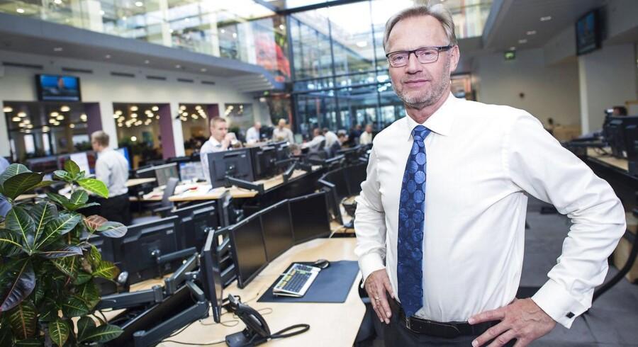 Nu løfter Jyske Bank - Direktør Anders Dam forventningerne til, hvor mange boliglån Jyske Bank-koncernen kan få på bøgerne.
